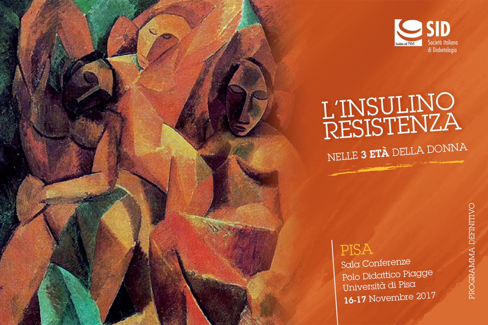 16 - 17 novembre 2017 - Pisa - L'insulino-resistenza nelle 3 età della donna