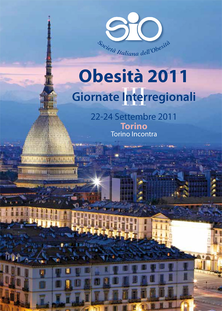 Obesità - 22-24 settembre 2011 Giornate Interregionali