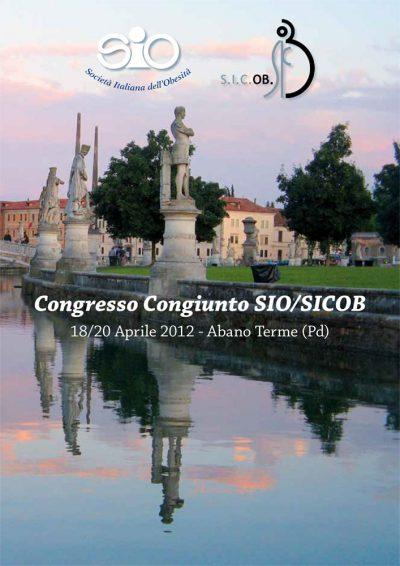 Programma Congresso Congiunto SIO-SICOB - Padova 2012